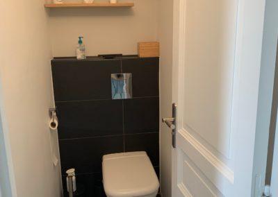 Rénovation complète WC à Sillery