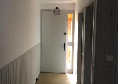 Rénovation d'un couloir, cuisine et buanderie à Sillery près de Reims