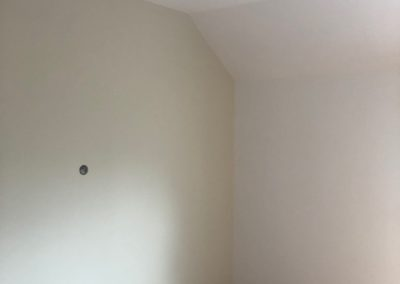 Pose de plaques de plâtre et peinture d'une chambre à Sillery, près de Reims