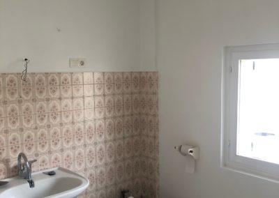 Peinture d'une salle de bain à Beine Nauroy près de Reims