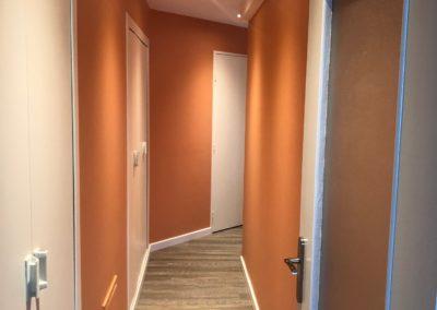 Rénovation d'un couloir dans un appartement à Châlons en Champagne