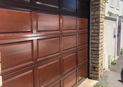 Rénovation de portes de garage et extérieur à Reims