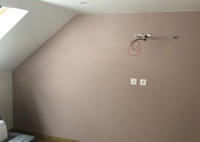 Peinture de 2 chambres chez un particulier à Reims
