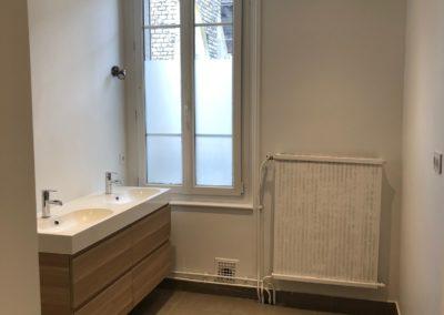 Rénovation d'une salle de bain et d'un toilette à Reims