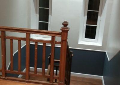 Rénovation d'un couloir et cage d'escalier chez un particulier à Beine Nauroy