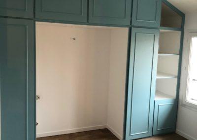 Rénovation complète d'une chambre chez un particulier à Cormontreuil