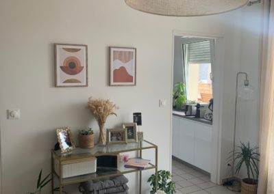Peinture d'un appartement complet chez un particulier à Reims